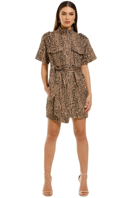 CMEO-Collective-Reiterate-Dress-Brown-Leopard-Front
