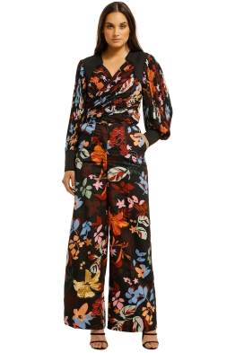CMEO-Collective-With-Or-Without-Top-and-Pant-Set-Black-Abstract-Floral-Front