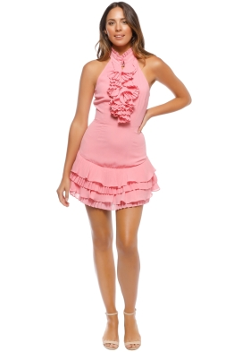 CMEO - Big Picture Dress - Pink - Front