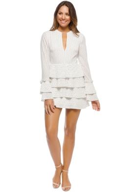 CMEO - Fundament Dress - Ivory Spot - Front