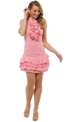 CMEO Collective - Big Picture Dress - Pink - Front
