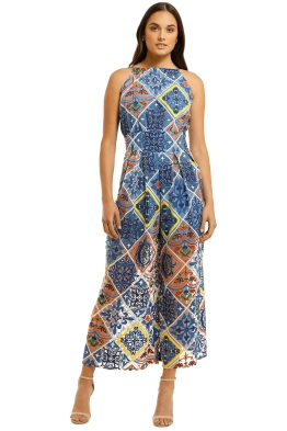 Cooper-By-Trelise-Cooper-Limon-Cello-Quartet-Jumpsuit-Tile-Print-Front