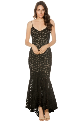 Cooper St - Lady of Venice Gown - Black - Front