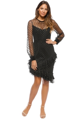 Cooper St - True Romance LS Dress - Black - Front