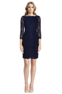Diane von Furstenberg - Zarita Lace Dress - Front