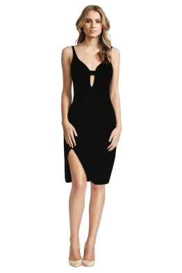 Elizabeth & James - Myla Dress - Black - Front