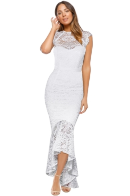 Elle Zeitoune - Cassandra Dress - White - Front