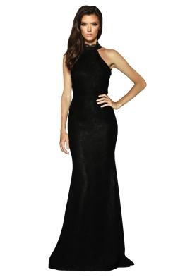 Elle Zeitoune - Medina Gown - Black - Front