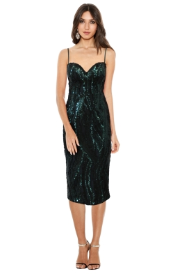 Elle Zeitoune - Tara Sequin Dress - Front