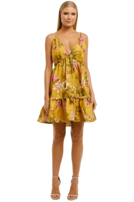 Elliatt-Bahamas-Mini-Dress-Floral-Front