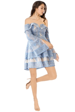 Elliatt - Antoinette Dress - Sky Blue - Front