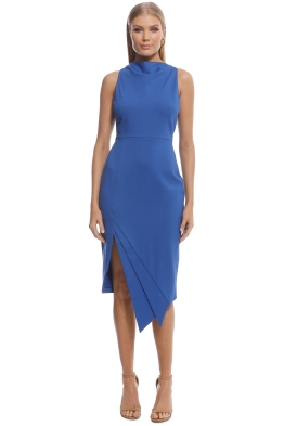 Elliatt - Carmen Dress - Cobalt - Front
