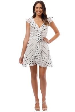 Elliatt - Dorothy Dress - White - Front