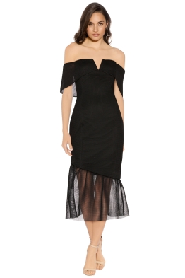 Elliatt - Fate Dress - Black - Front