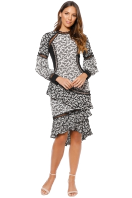 Elliatt - Florence Dress - Black - Front