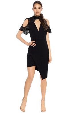 Elliatt - Freesia Dress - Black - Front