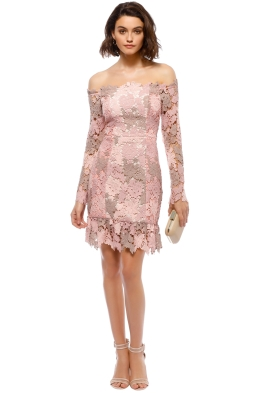 Elliatt - Harmony Dress - Blush - Front