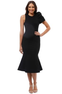 Elliatt - Imperial Dress - Black - Front