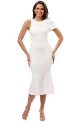 Elliatt - Imperial Dress - White - Front