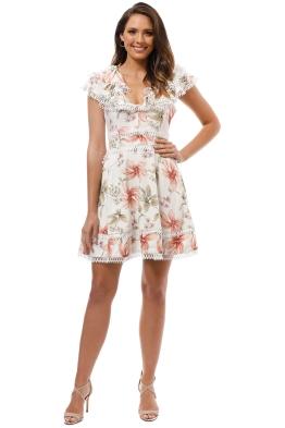 Elliatt - Jasmin Dress - White - Front