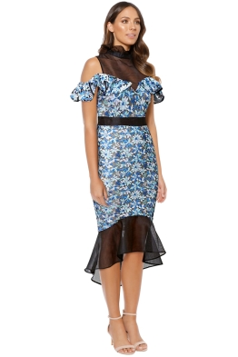 Elliatt - Juliet Dress - Blue - Side
