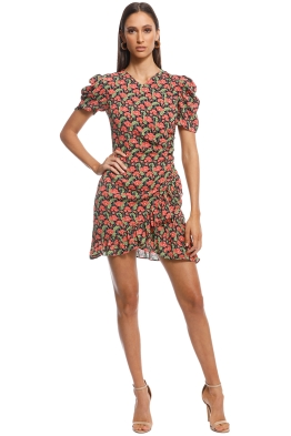 Elliatt - Luna Peach Dress - Multi - Front