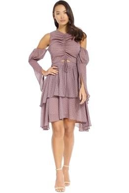 Elliatt - Manhattan Dress - Truffle - Front