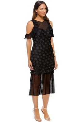 Elliatt - Oberon Dress - Black - Side