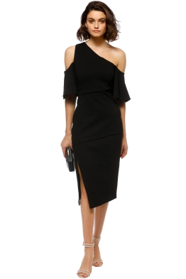 Elliatt - Octave Dress - Black - Front