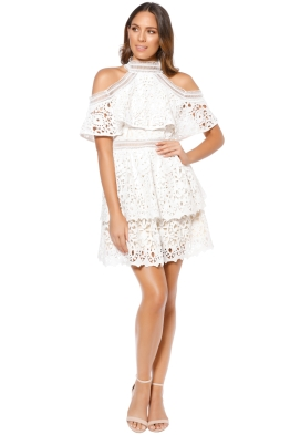 Elliatt - Saint Cloud Dress - White - Front
