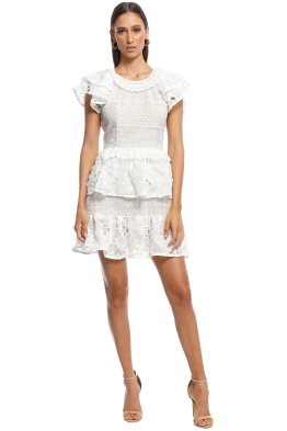 Elliatt - Savannah Dress - White - Front