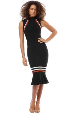 Elliatt - Serene Dress - Black - Front