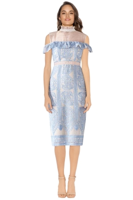 Elliatt - Soiree Dress - Sky Blue - Front
