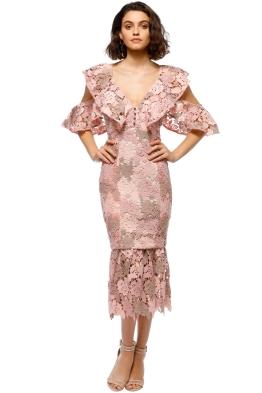 Elliatt - Symphony Dress - Blush - Front