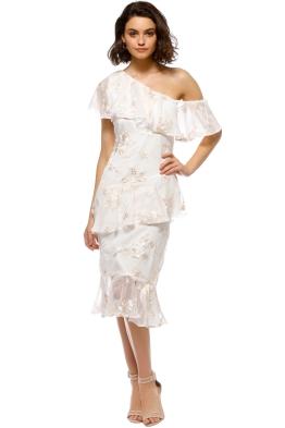 Elliatt - Tenor Dress - White - Front