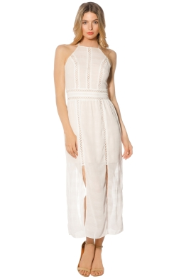 Elliatt - Theory Dress - Ivory - Front