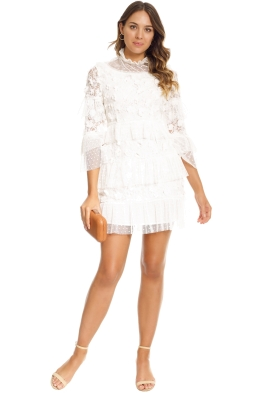 Elliatt - Titania Dress - White - Front