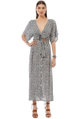 Faithfull the Brand - Magda Midi Dress - Azalea Print - Front