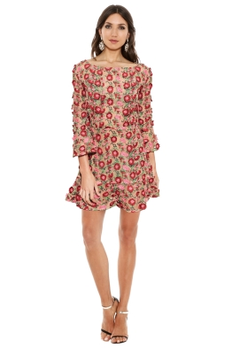 For Love and Lemons - Amelia Swing Dress - Red Rose - Front