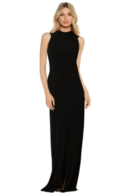 George - Adair Gown - Black - Front