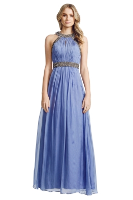 George - Lorretta Gown - Front - Blue