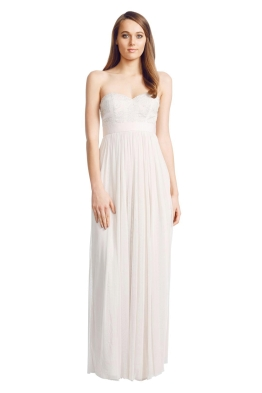 George - Shell Pixel Gown - Front