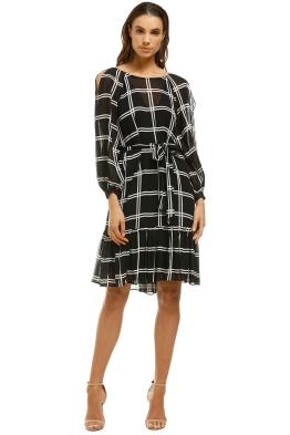 Ginger-and-Smart-Juxtapose-Dress-Black-White-Front