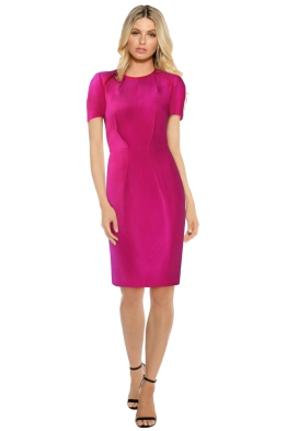 Ginger Smart - Wishbone Dress - Pink - Front