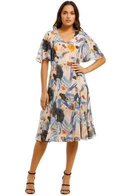 Gorman--Fab-Crab-Silk-Dress-Multi-Front