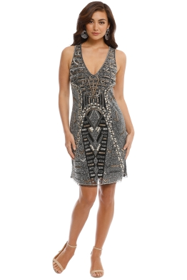 5f8746b51b Grace and Blaze - All That Shines Dress - Black - Front