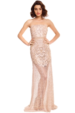 Grace and Hart - Adele Gown - Blush - Front