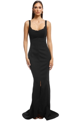 Grace and Hart - Calliope Gown - Black - Front
