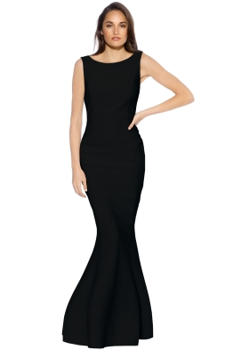 Grace and Hart - Eternal Obsession Gown  - Black - Front