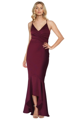 Grace and Hart - Juliets Delight Gown - Wine